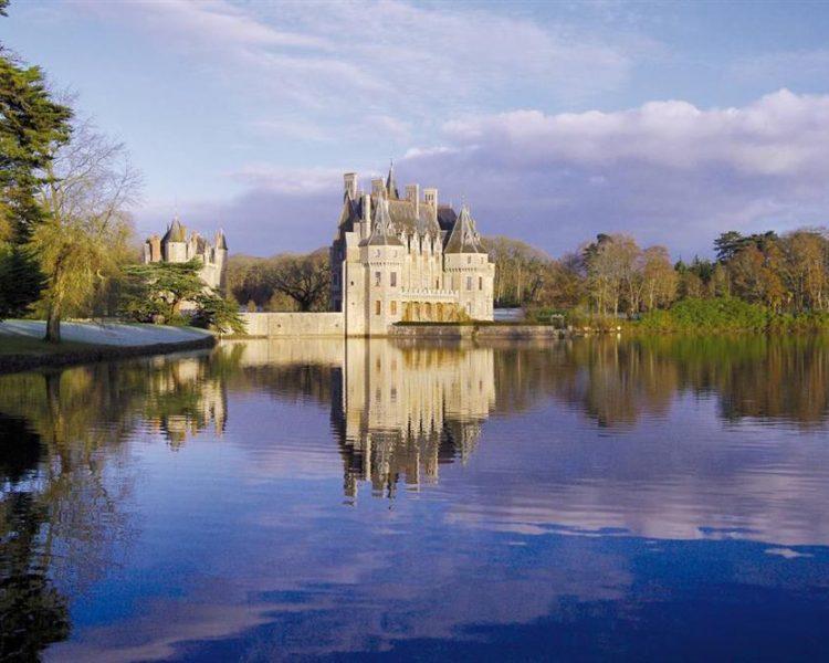 missilac golf lake castle loire atlantique
