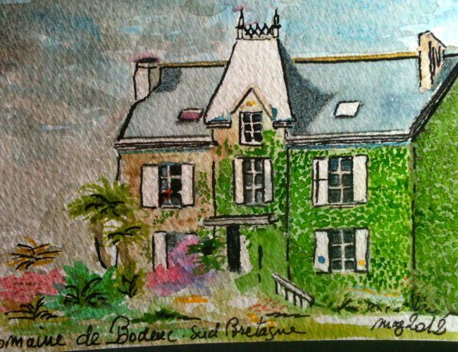 hotel elven saint gildas de rhuys chateau