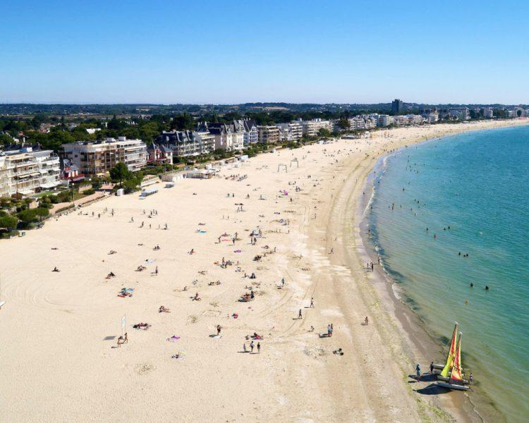 la baule beach saint nazaire nantes